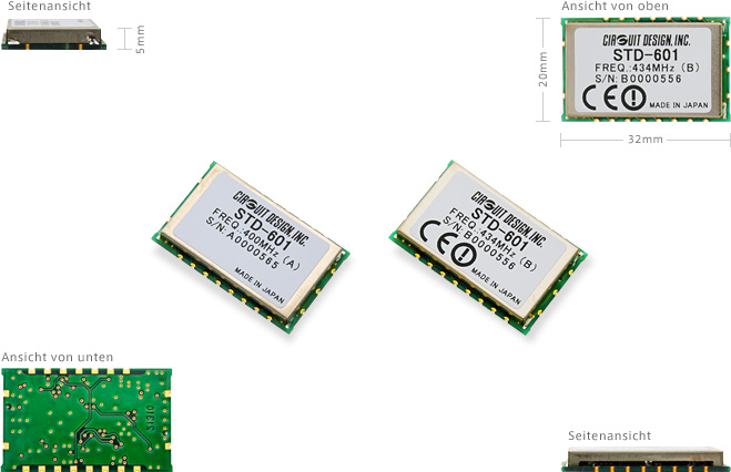 STD-601A/B product images